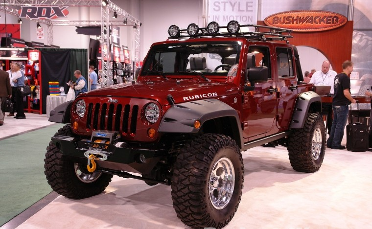 Автомобиль Jeep Wrangler Rubicon